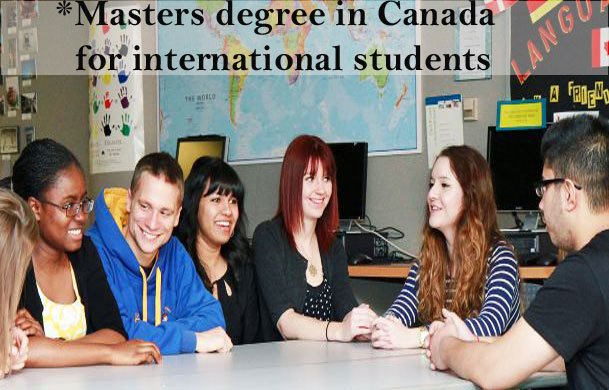 masters degree in canada for international students