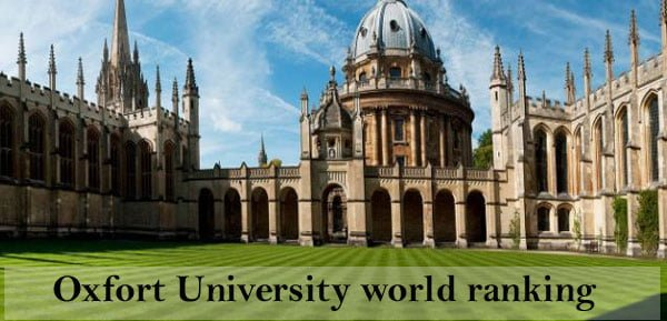 Oxford University world ranking