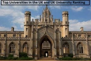 Top Universities in the UK