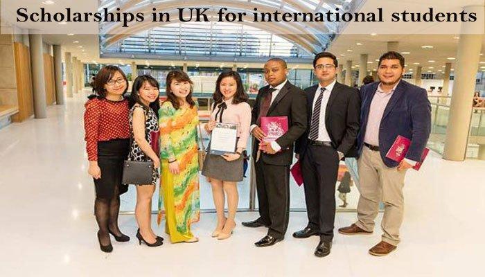 UK scholarships for international students