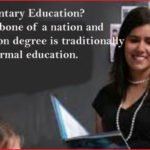 Elementary education degree and elementary school grades in USA