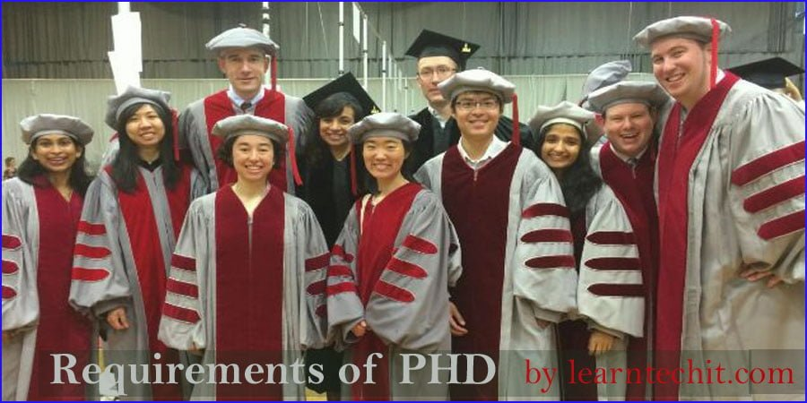 PHD full form and requirements