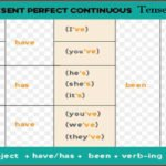 Present Perfect Continuous Tense with examples