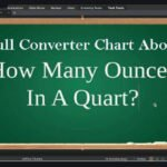 How many ounces in a quart Full figures and Converter Chart