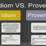 Difference Between Idiom And Proverb With Examples