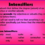Intensifiers And Its Examples