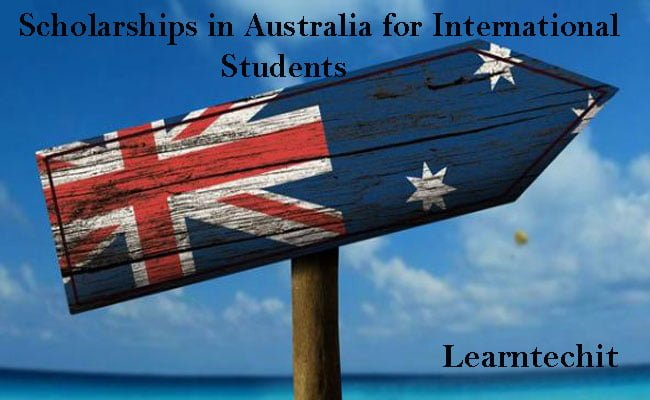Scholarships in Australia for international students and all things