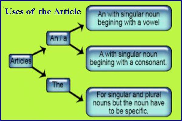 uses of the article