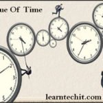 Value Of Time Essay, Paragraph For Students