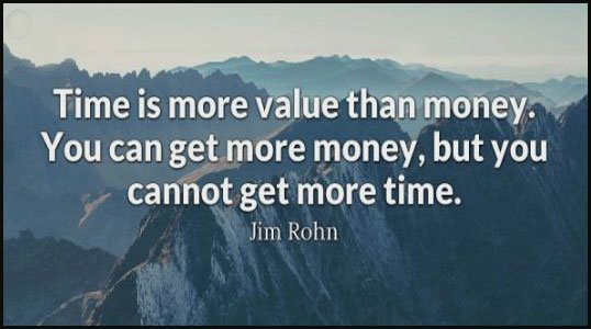 Value of time quotes