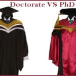 Difference Between PhD And Doctorate   Doctorate VS Ph.D