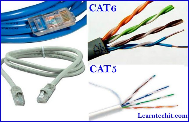 CAT5 vs CAT6 cables