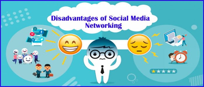 Disadvantages of Social Media