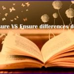 What is the Difference between insure and ensure with details
