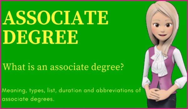 What is an Associate Degree