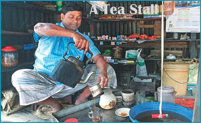 A Tea Stall