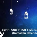 SEHRI AND IFTAR TIME Bangladesh (Ramadan 2020 Calendar)