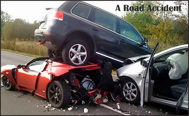 A Road Accident