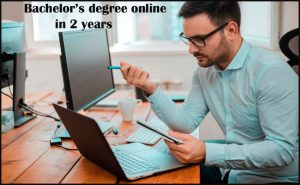 Bachelor degree Online in 2 years